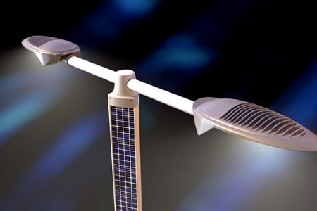 Pyramid Solar LED Street Lighting Range